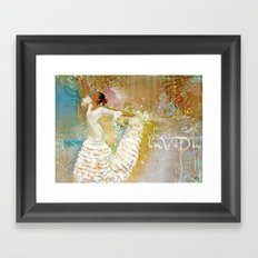 Mariposa °la Vida 2^ Framed Art Print