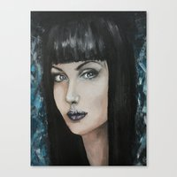 goth Canvas Prints featuring Goth by Giulia Lauren