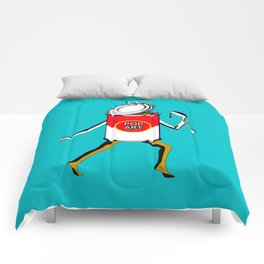 Pop Art to Go Comforters