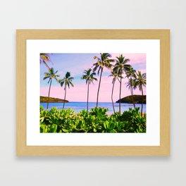 Hanauma Bay, Hawaii Framed Art Print