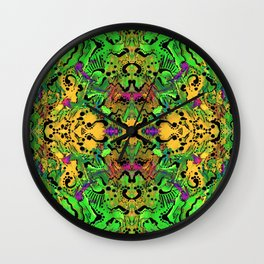 Let There Be Lime Wall Clock