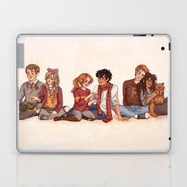 The Golden and the Silver Trio Laptop & iPad Skin