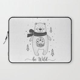 BE WILD! Laptop Sleeve