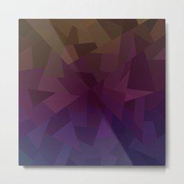 Patchwork - Flipped Metal Print