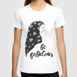 confident fatima / illustration T-shirt