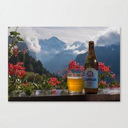 Swiss Beer Canvas Print