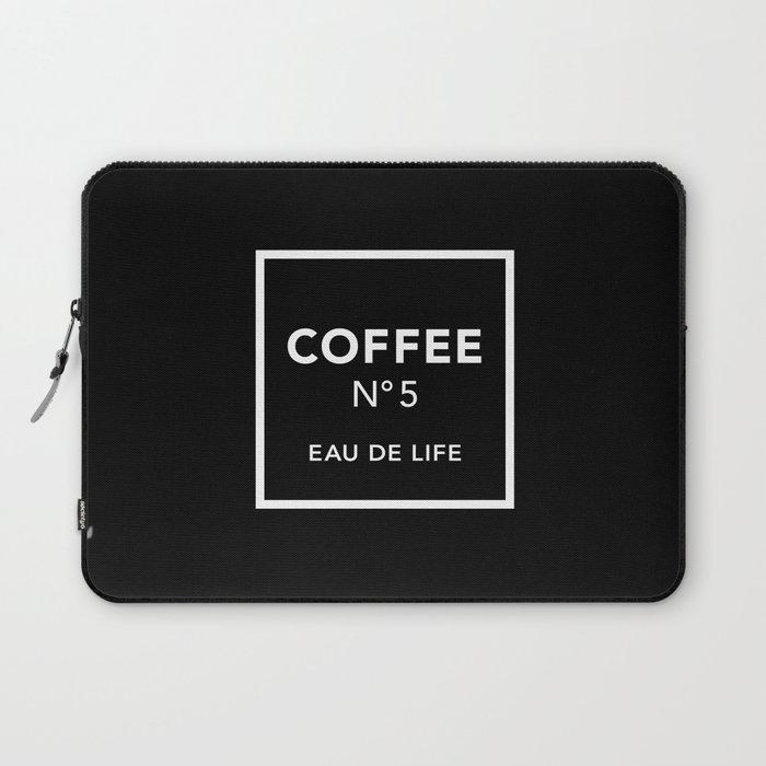 Black Coffee No5 Laptop Sleeve