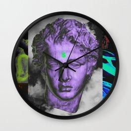 alpha & omega II Wall Clock