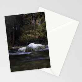 Long Exposure in Yosemite National Park Stationery Cards