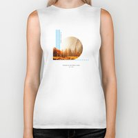 parks Biker Tanks featuring National Parks: Yosemite by Roadtrippers