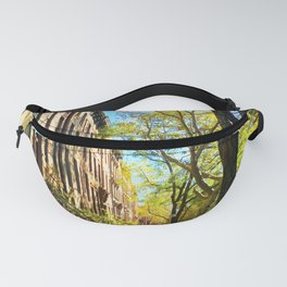 Cobble Hill Brooklyn New York in the Fall, Brownstones Fanny Pack