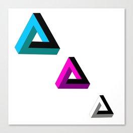 Triangled 2 Canvas Print