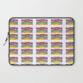 flag of british columbia -prairie,canadian, canada,vancouver,victoria,columbian. Laptop Sleeve