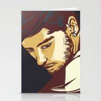 zayn malik Stationery Cards featuring Malik by Rosketch