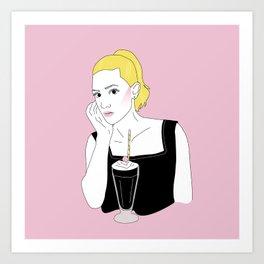Betty Cooper Art Print