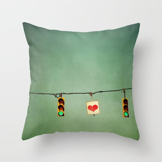 Ready For Love  Throw Pillow