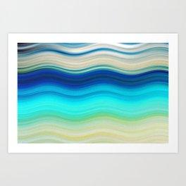 SEA MAGIC Art Print