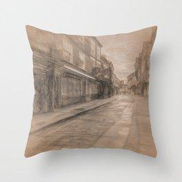 Shambles York da Vinci Throw Pillow