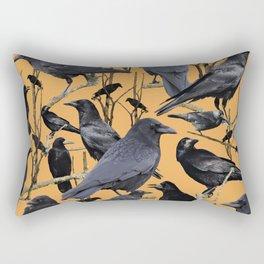 Crow | Corvidae Rectangular Pillow
