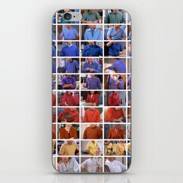 Seinfeld in Color 1 iPhone Skin
