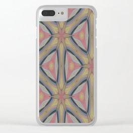 Ann Arbor Pastel Chalk 6235 Clear iPhone Case