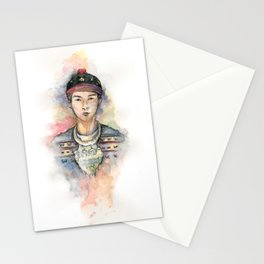 Color Me Hmong 2 Stationery Cards