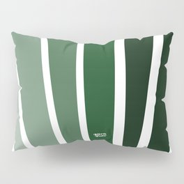 Kirovair Art Deco Green #minimal #art #design #kirovair #buyart #decor #home Pillow Sham