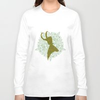 loki Long Sleeve T-shirts featuring Loki by Emi Chen