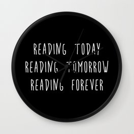 Reading (inverted) Wall Clock