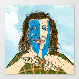 WILLIAM WALLACE Canvas Print