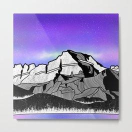 Mount Gould Montana Metal Print