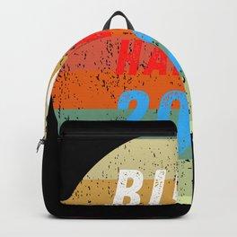 Bidin Haris 2020 retro Backpack