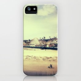 Santa Cruz Boardwalk iPhone Case