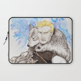 A Wolf in Disguise Laptop Sleeve