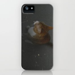 watching the rain iPhone Case