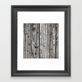You're Barking Up the Right Tree Framed Art Print