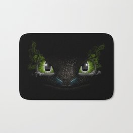 Toothless | how to train your dragon Bath Mat
