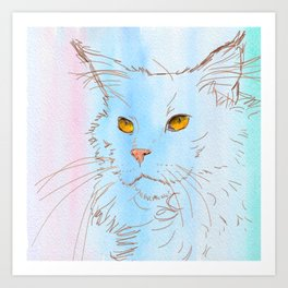 Magnificent Maine Coon Art Print