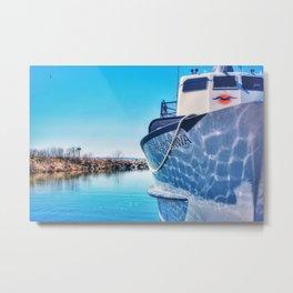 LelandBoat Metal Print