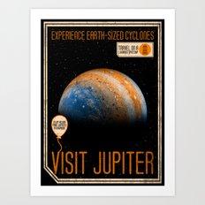 Visit Jupiter Art Print