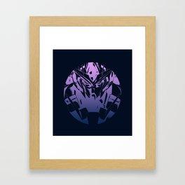 GDM Circle Framed Art Print