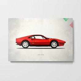 The 308 GT Berlinetta Metal Print