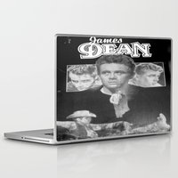 50s Laptop & iPad Skins featuring  Dean Poster (Circa mid 50s) by Chris' Landscape Images & Designs