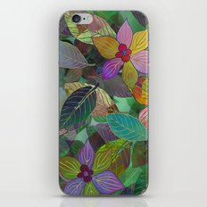 Floral Pattern 7 iPhone Skin
