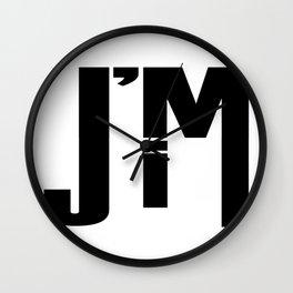 I'M JIM Wall Clock