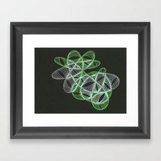 Small Nebula Four Framed Art Print