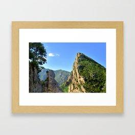 Gorgeous Gorges Verdon Framed Art Print