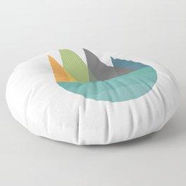 Walk In Peace Floor Pillow