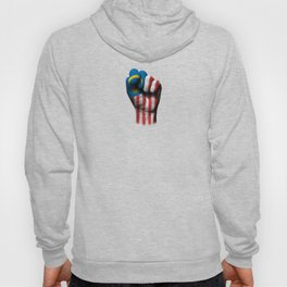 Malaysian Flag on a Raised Clenched Fist Hoody