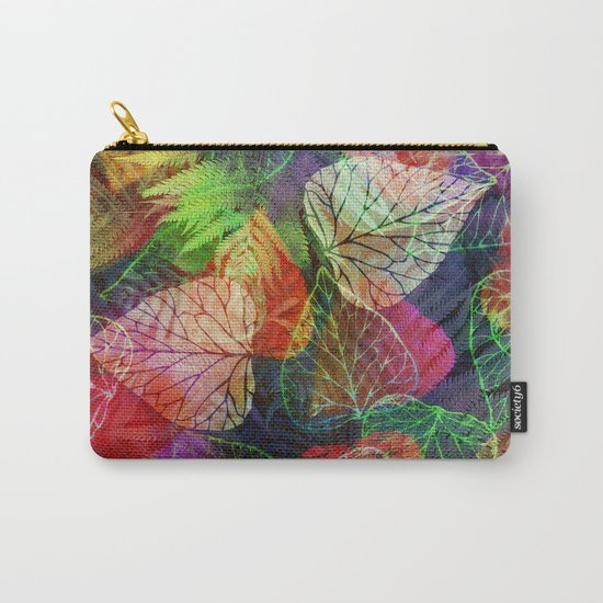 Forest Flora 2 Carry-All Pouch